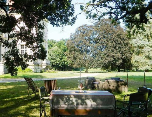 chateau jardin