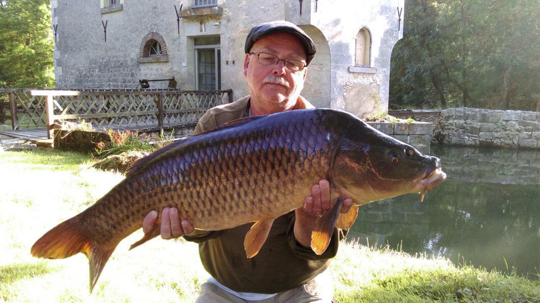 La pêche sur l'Indre
